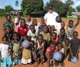 Boys in Tanzania