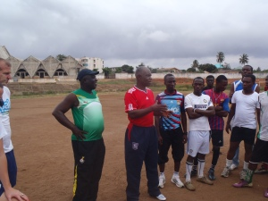 Coach Addo (former Ghana National Team coach)