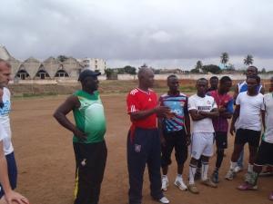 Coach Addo (former Ghana National Team coach)