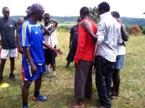 Impact Coach Moogy, from Uganda.