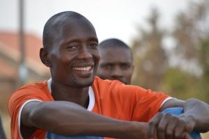 Coach Richard Ssenbunya is the heart of the Buwate program