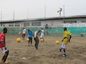 Juggles Across Continents with One World Futbol!