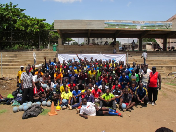 Over 100 coaches learned the GOAL program championed by Standard Chartered Bank