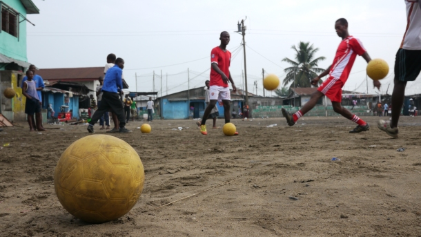 One World Futbol, Chevrolet, and Coaches Across Continents are teaming up to make an impact in Liberia