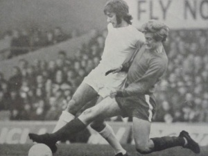 Bill Gates tackling George Best