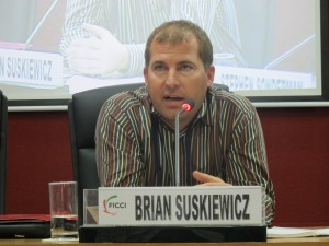 Brian speaks at FICCI GOALS