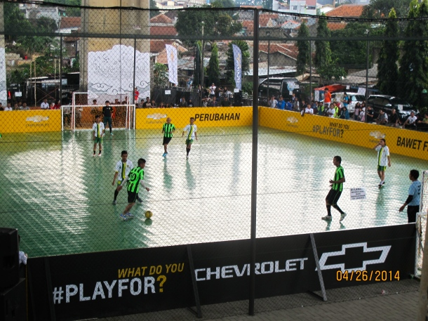 Coaches Across Continents, Chevrolet FC, and Manchester United enjoyed the first weekend of play at the new Rumah Cemara Field